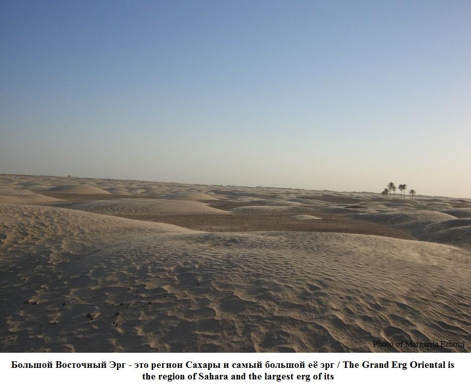 Пустыня Большой Восточный Эрг